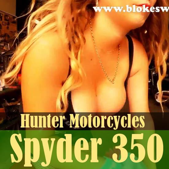 The Hunter Spyder 350 at Kingpin Choppers in Brisbane