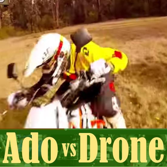 Ado Gets Attacked by a Walkera X350 Quadcopter